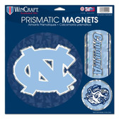 "North Carolina Tar Heels Magnets - 11""x11 Prismatic Sheet"