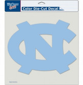 "North Carolina Tar Heels Die-Cut Decal - 8""x8"" Color"