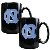 North Carolina Tar Heels Coffee Mug Set