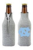 North Carolina Tar Heels Bottle Suit Holder - Glitter