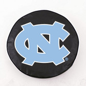 North Carolina Tar Heels Black Tire Cover, Large