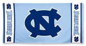 North Carolina Tar Heels Beach Towel