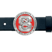 North Carolina State Wolfpack Belt Buckle