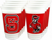 North Carolina State 20 oz. Cups