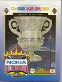 Nokia Sugar Bowl LSU vs Illinois Official Program - 2002
