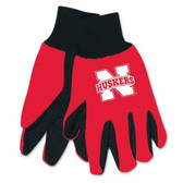 Nebraska Huskers Two Tone Gloves - Youth