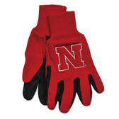 Nebraska Huskers Two Tone Gloves - Adult