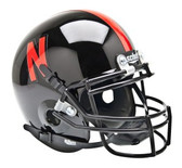 Nebraska Huskers Schutt Mini Helmet - Black Alternative