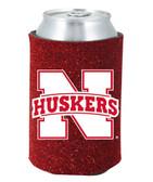 Nebraska Huskers Kolder Kaddy Can Holder - Glitter