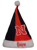 Nebraska Cornhuskers Santa Hat