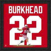 Nebraska Cornhuskers Rex Burkhead 20x20 Framed Uniframe Jersey Photo