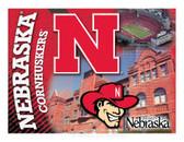 Nebraska Cornhuskers Printed Canvas