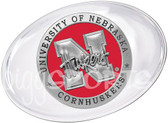 Nebraska Cornhuskers Paperweight Set
