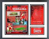 Nebraska Cornhuskers Milestones & Memories Framed Photo