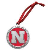Nebraska Cornhuskers Logo Ornament