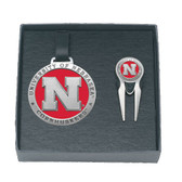 Nebraska Cornhuskers Golf Gift Set