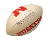 Nebraska Cornhuskers Full Size Embroidered Football