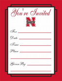 Nebraska Cornhuskers Formal Invitations