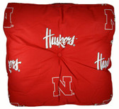 Nebraska Cornhuskers Floor Pillow