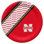 Nebraska Cornhuskers Disposable Paper Plates