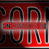 Nebraska Cornhuskers Avenue Sign 70240-AUTHSS