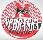 """Nebraska Cornhuskers 9"""" Dinner Paper Plates"""
