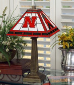 "Nebraska Cornhuskers 23"" Mission Lamp"