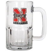 Nebraska Cornhuskers 20oz Root Beer Style Mug