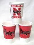 Nebraska Cornhuskers 16 oz Cups