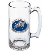 Navy Midshipmen Mascot Logo Super Stein Mug