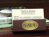 Navy Midshipmen Business Card Holder