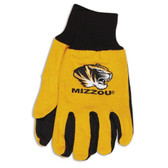 Missouri Tigers Two Tone Gloves - Adult