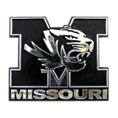 Missouri Tigers Silver Auto Emblem