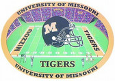 Missouri Tigers Set of 4 Placemats