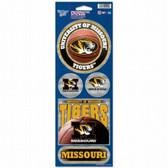 Missouri Tigers Prismatic Stickers