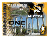 Missouri Tigers Printed Canvas