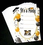 Missouri Tigers Party Invitations