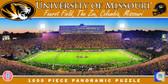 Missouri Tigers Panoramic Stadium Puzzle