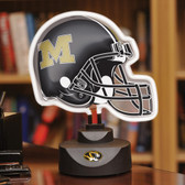 Missouri Tigers Neon Helmet Desk Lamp