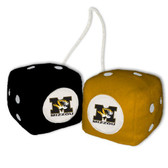 Missouri Tigers Fuzzy Dice