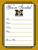 Missouri Tigers Formal Invitations