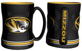 Missouri Tigers Coffee Mug - 15oz Sculpted