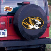 Missouri Tigers Black Tire Cover, Small