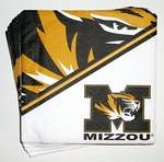 Missouri Tigers Beverage Napkins