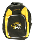 Missouri Tigers Back Pack - Wheat Southpaw Style