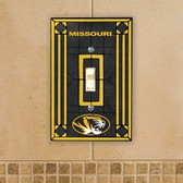 Missouri Tigers Art Glass Switch Cover
