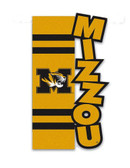 Missouri Tigers Applique Sculpted Garden Flag