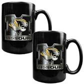 Missouri Tigers 2pc Coffee Mug Set