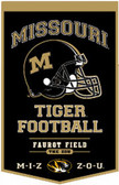 "Missouri Tigers 18""x27"" PowerHouse Wool Banner"