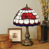 Mississippi Rebels Tiffany Table Lamp